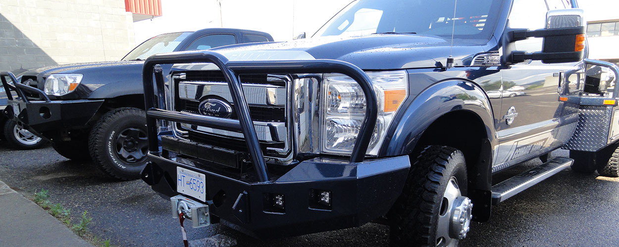 High Test Custom Truck Bumper