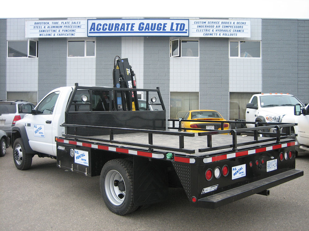 TD-10 -Accurate Truck Bodies and Service Decks