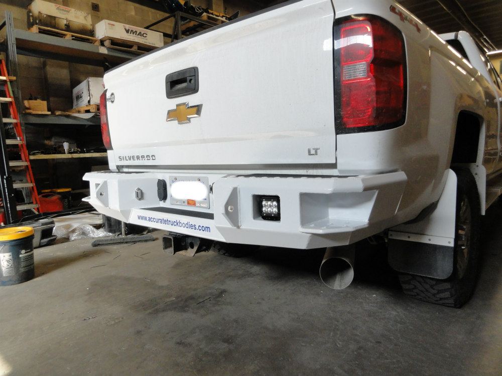Utility Truck Bumpers : Bp accurate truck bodies and service decks